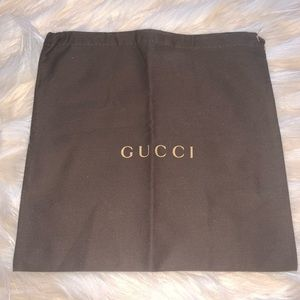 Gucci Dust Bag Dustbag 9.5 x 9.5